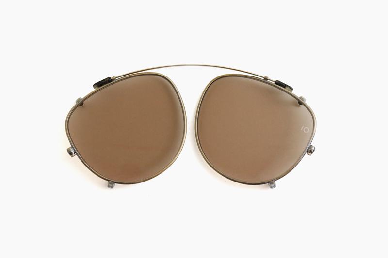 10 eyevan for Continuer no.4 SLIDE CLIP – Antique Gold / BR 10 eyevan