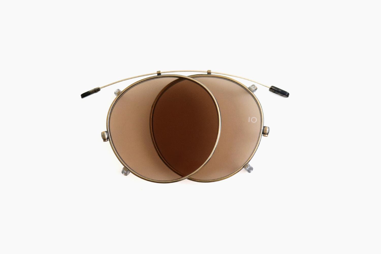 10 eyevan for Continuer|no.5 SLIDE CLIP - Antique Gold/ BR|10 eyevan