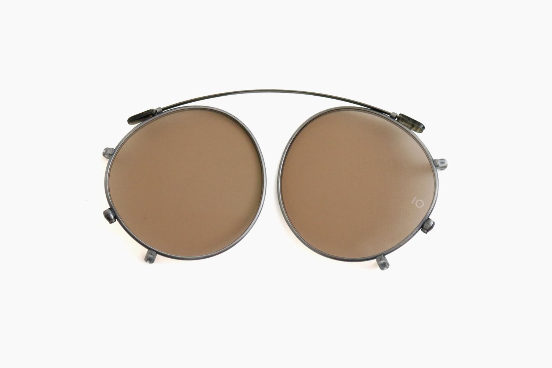 10 eyevan for Continuer|no.5 SLIDE CLIP - Gunmetal / BR|10 eyevan