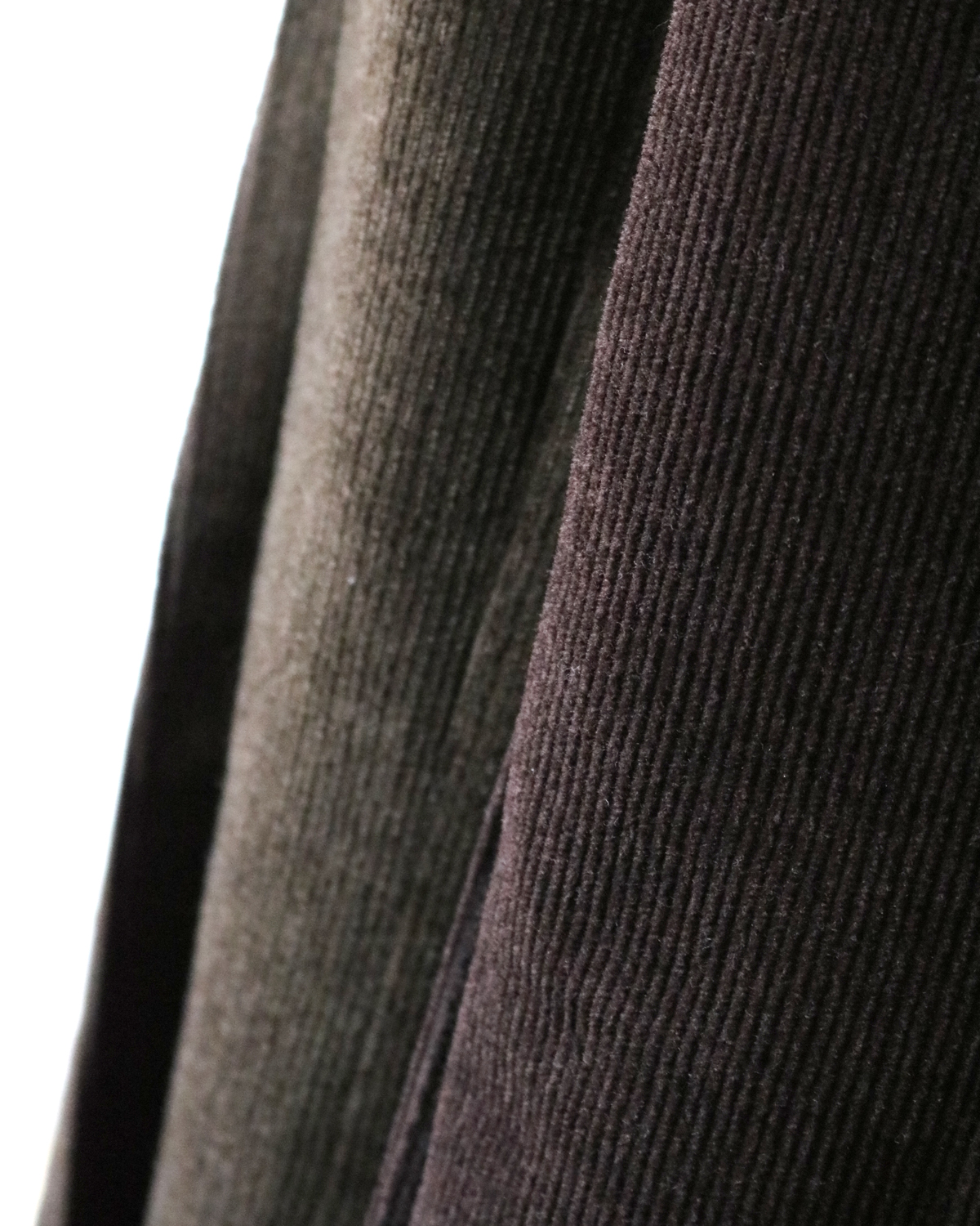Wool Cotton Corduroy|TAPERED - Green|NEAT