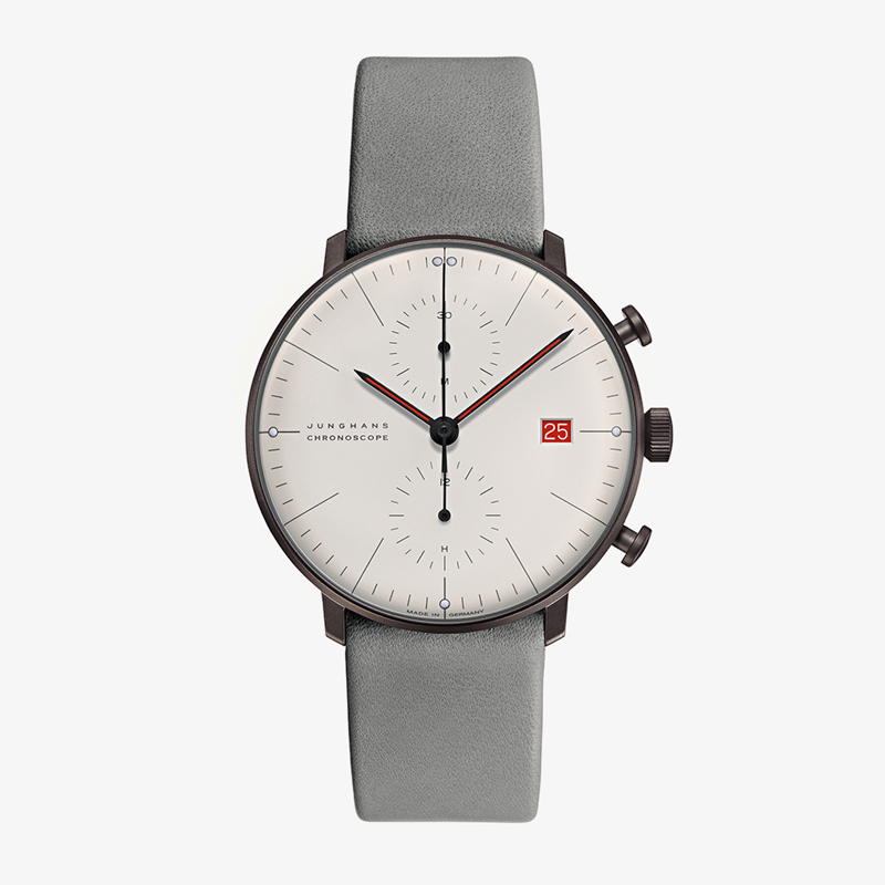 max bill Chronoscope – Ltd1000|JUNGHANS