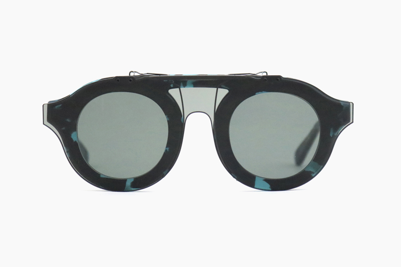 OPPENHEIM CLIP|Blue Tort – Grey Lens|NATIVE SONS