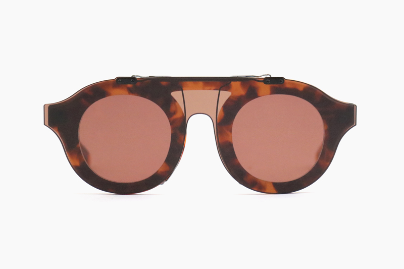 OPPENHEIM CLIP|Orange Tort – Dusty Rose|NATIVE SONS