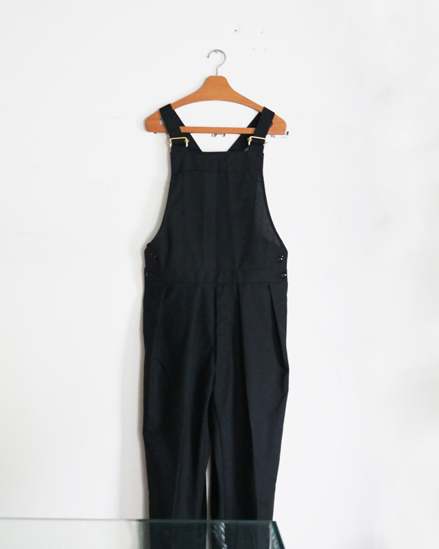 HOPSACK|OVERALL – Black|NEAT