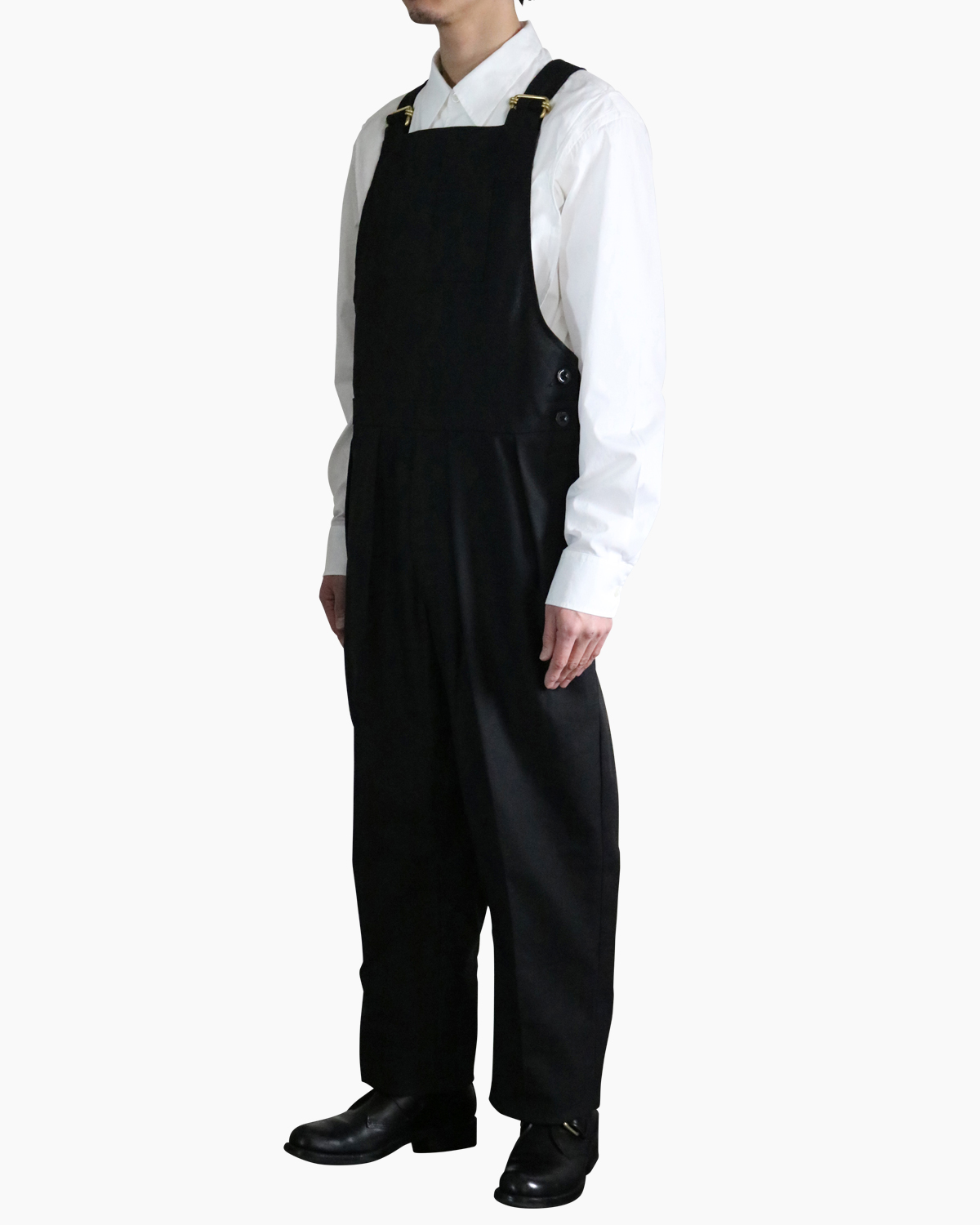 HOPSACK|OVERALL - Black|NEAT