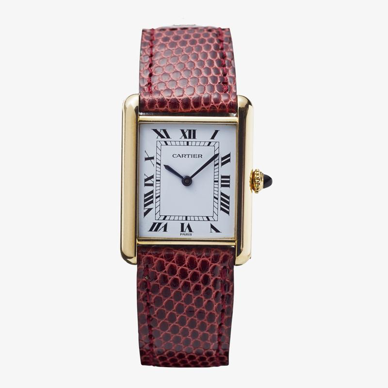 SOLDOUT|Cartier| TANK LM – 80's|VINTAGE Cartier