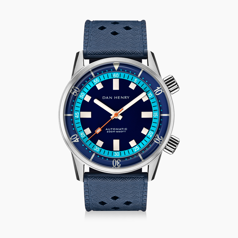 SOLD OUT|1970 40mm|Blue|No Date|DAN HENRY