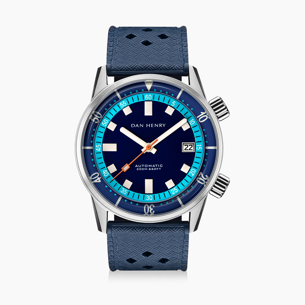 1970 40mm|Blue|Date|DAN HENRY