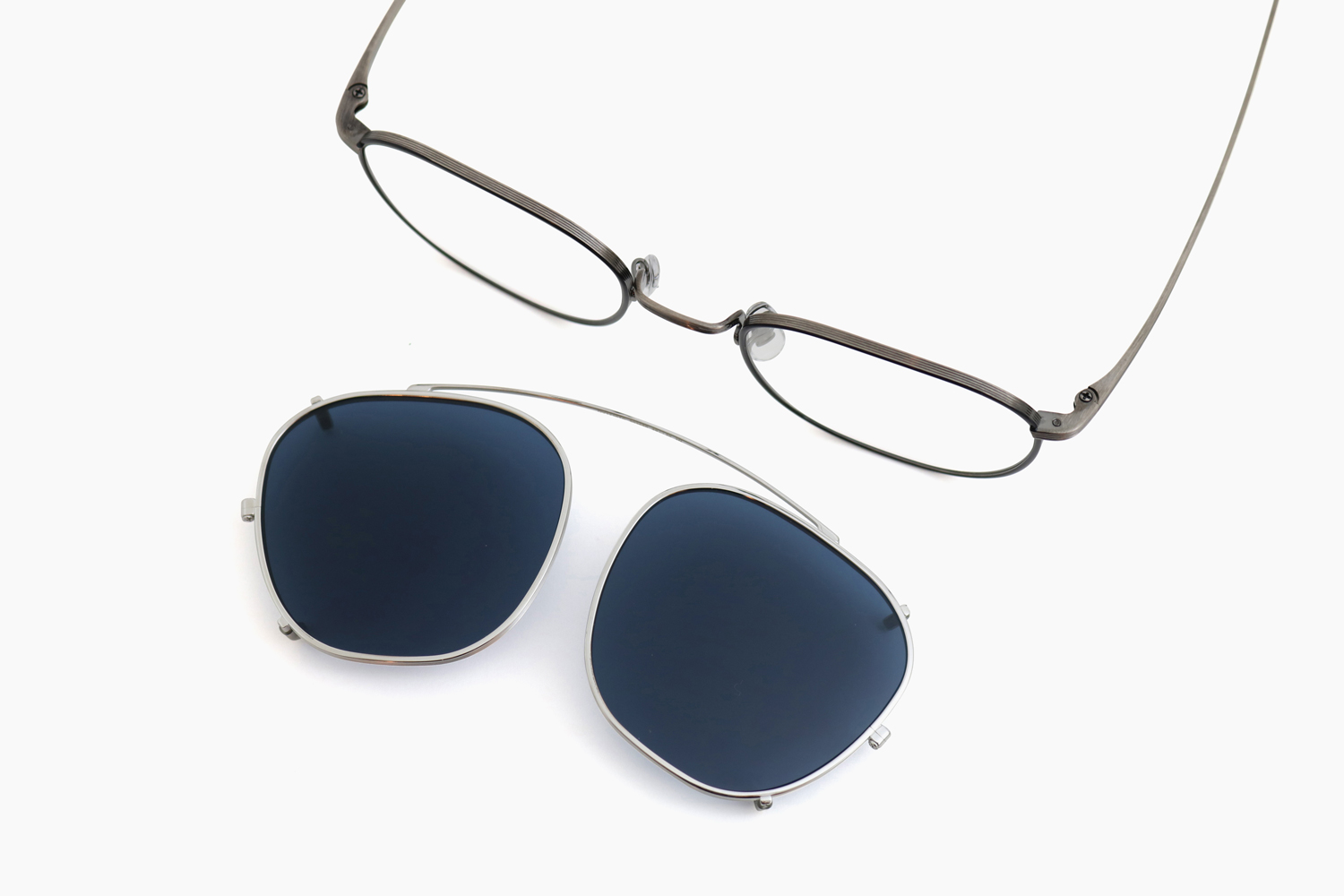 BOARDMEETING CLIP - 503680 Silver|OLIVER PEOPLES