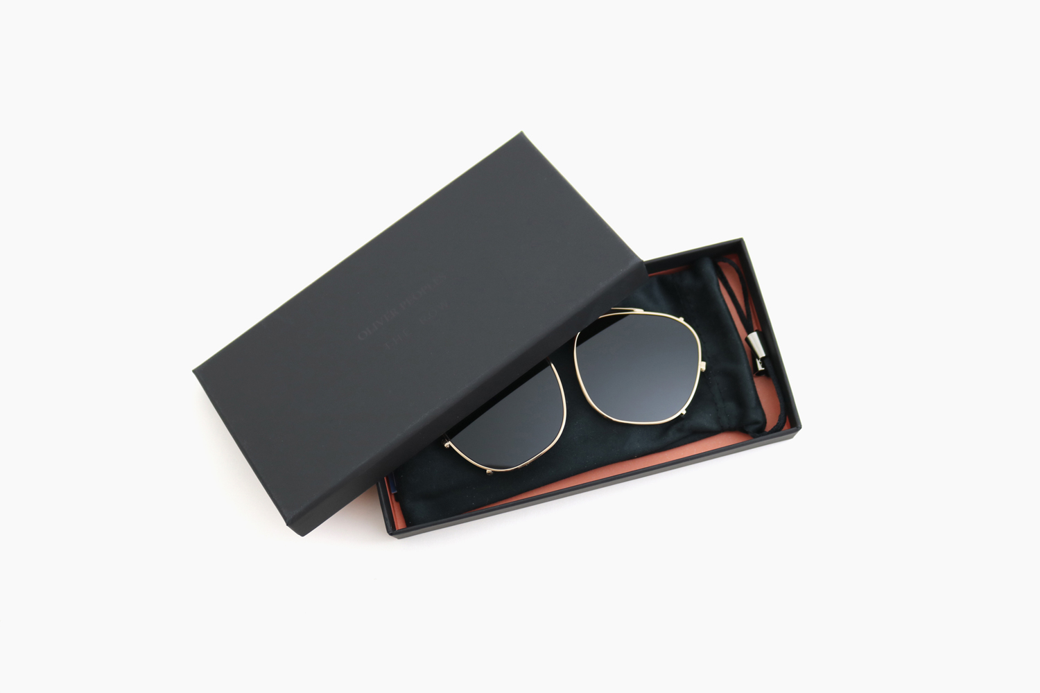 BOARDMEETING CLIP - 52929A White Gold|OLIVER PEOPLES