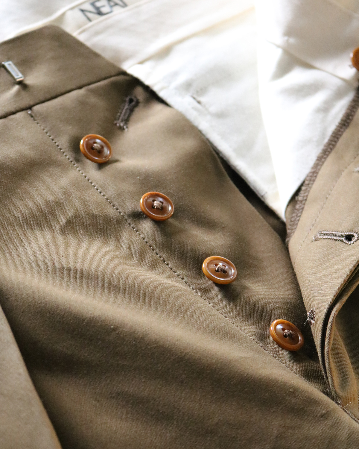 ENGLAND VENTILE|TAPERED - Khaki|NEAT