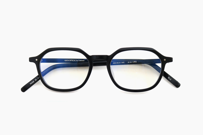 ARCH OPTICAL × Blue light cut|A/a-CRS – BLK|ARCH OPTICAL