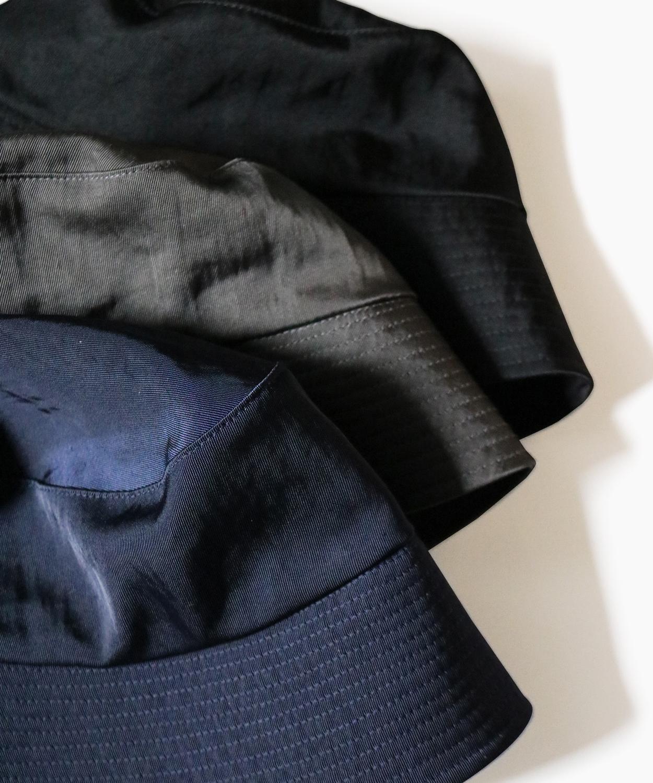 WATER PROOF NYLON BUCKET HAT - Black|COMESANDGOES