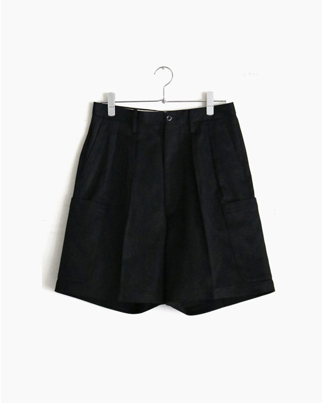 COTTON PIQUE|SHORTS – Black|NEAT