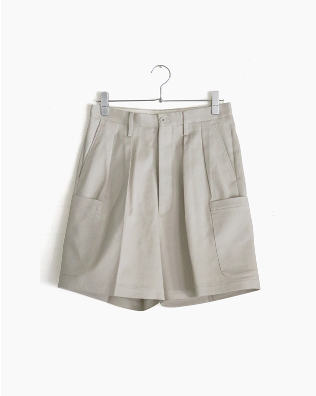 COTTON PIQUE|SHORTS – Ivory|NEAT