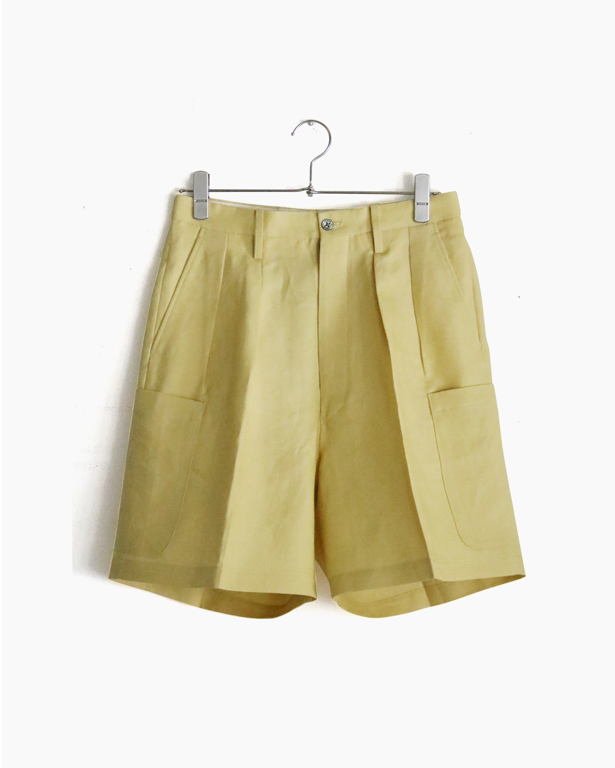 SPENCE BRYSON LINEN|CARGO SHORTS – Yellow|NEAT