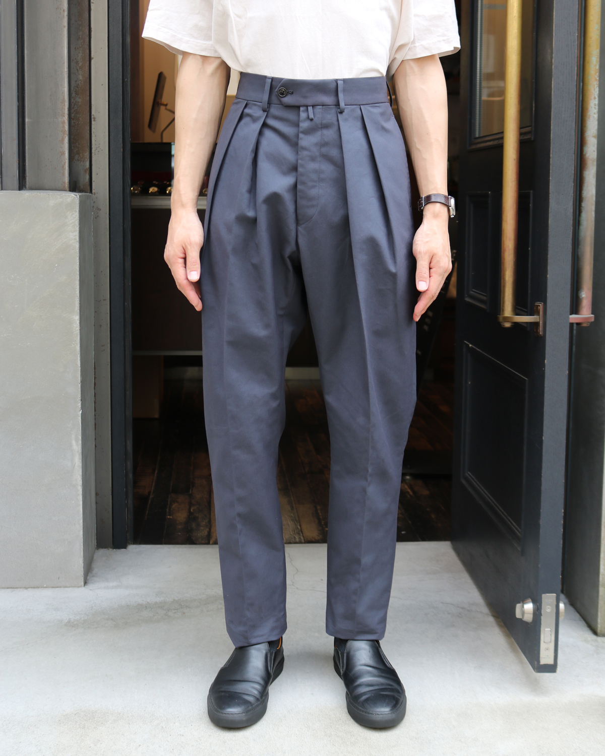 ENGLAND VENTILE|TAPERED - Charcoal|NEAT
