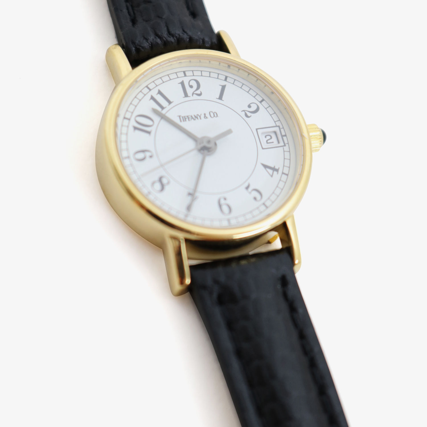 Tiffany & Co. |K14YG ROUND - 90'S|OTHER VINTAGE WATCH