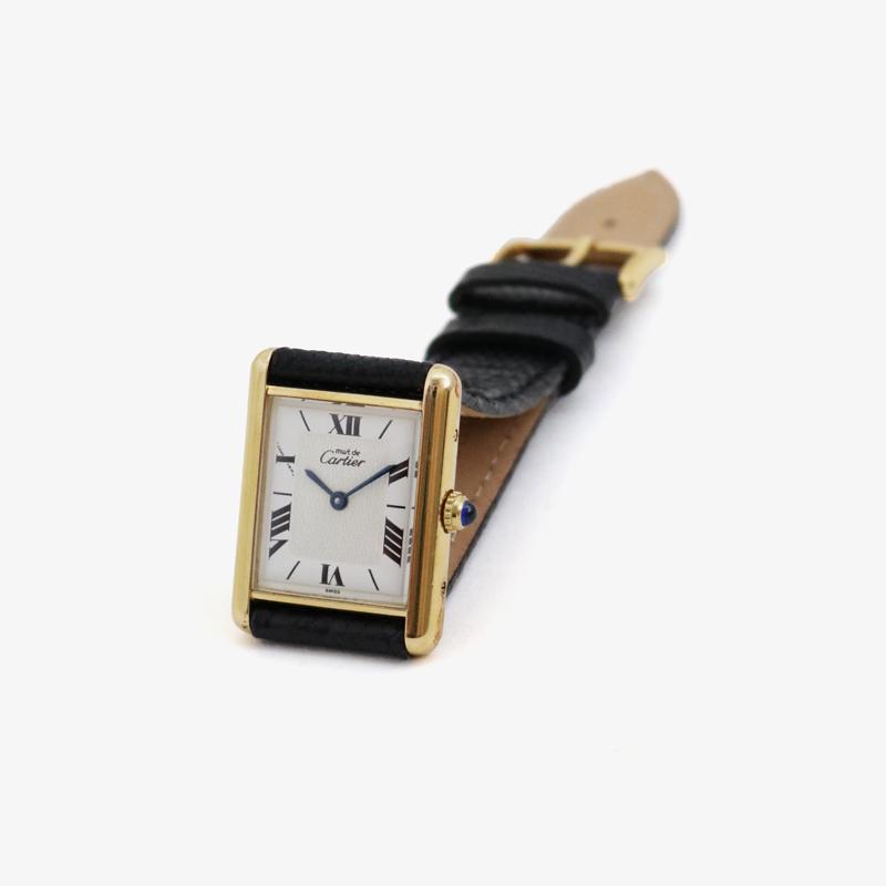 Cartier|must de Cartier TANK LM – 90's|VINTAGE Cartier