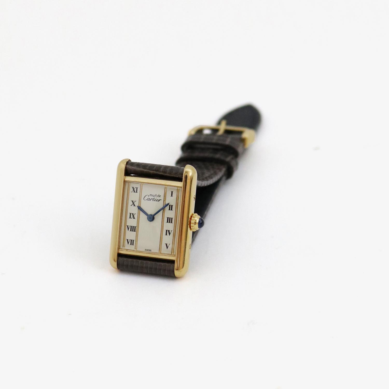 Cartier|must de Cartier TANK SM - 90's|VINTAGE Cartier