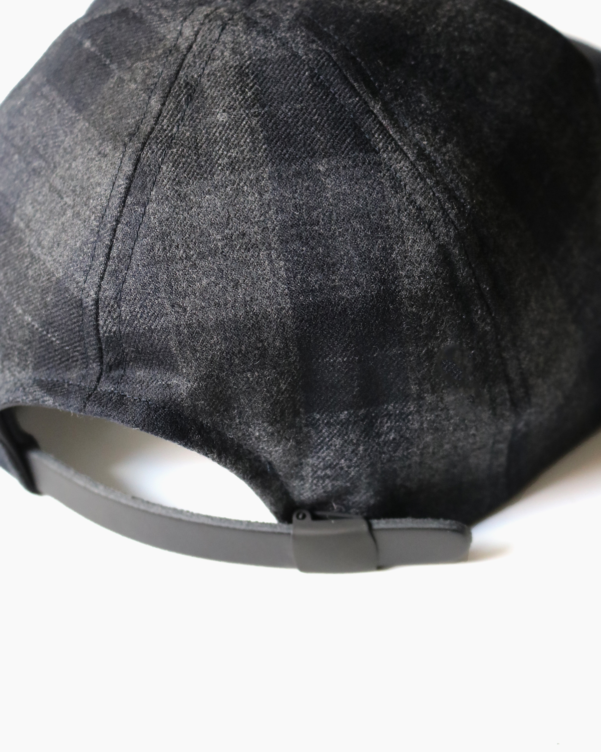 SALE|CHECK CAP - Gray×Black|COMESANDGOES