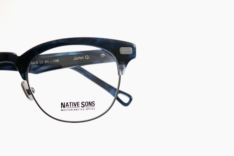 JOHN Q - Indigo / Black Palladium|NATIVE SONS