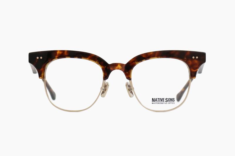 NEWMAN – Brown Tort / SUN-Gold|NATIVE SONS