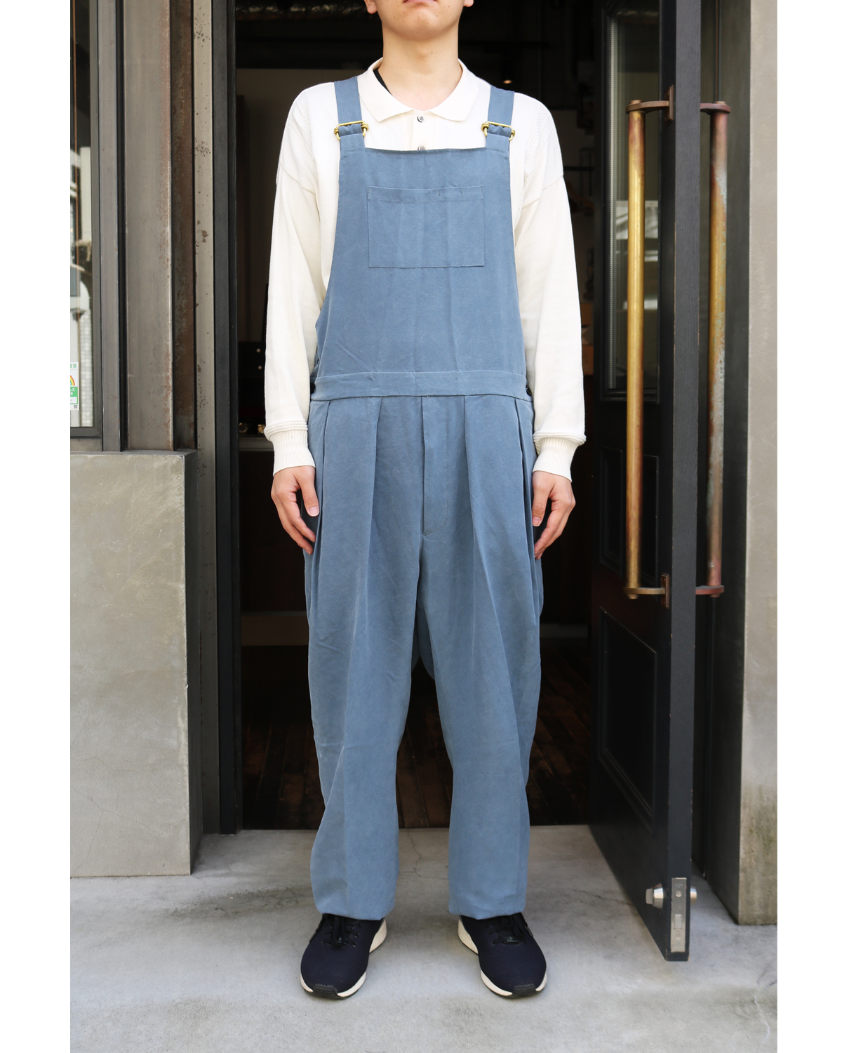 CELLULOSE NIDOM|OVERALL - Blue Gray|NEAT