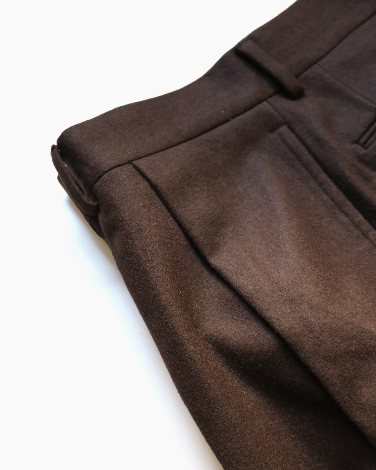 FOX BROTHERS FLANNEL|STANDARD - Brown|NEAT