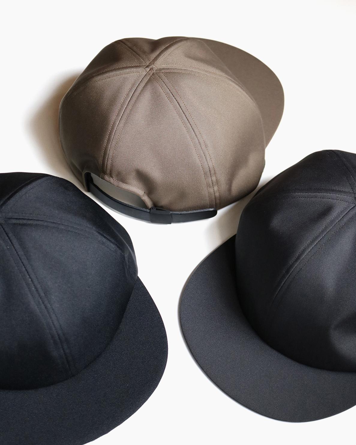 CORDURA LITTLE BRIM CAP -  Charcoal|COMESANDGOES