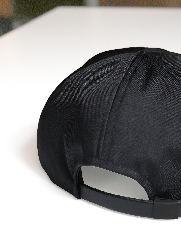 CORDURA LITTLE BRIM CAP -  Black COMESANDGOES