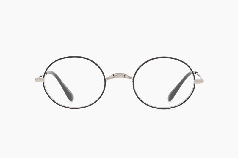 Oliver Oval/Pro Titanium – Silver Black|OLIVER GOLDSMITH
