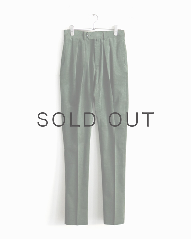 FRENCH CORDUROY|TAPERED – Green|NEAT
