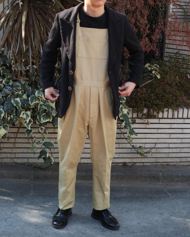 THE KATSURAGI|OVERALL – BEIGE|NEAT