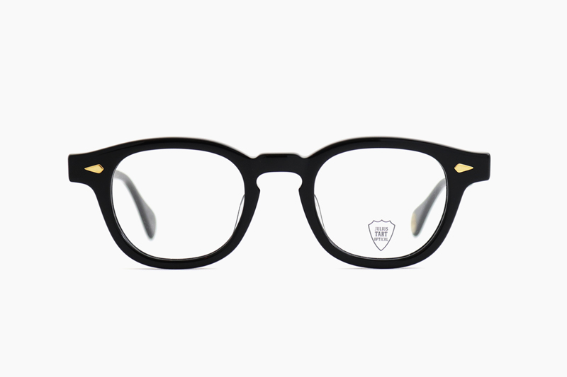 AR 44 – Black <Gold Caulking>|JULIUS TART OPTICAL