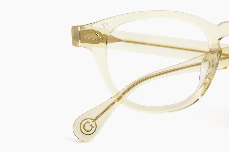 AR 46 - Champagne <Gold Caulking>|JULIUS TART OPTICAL