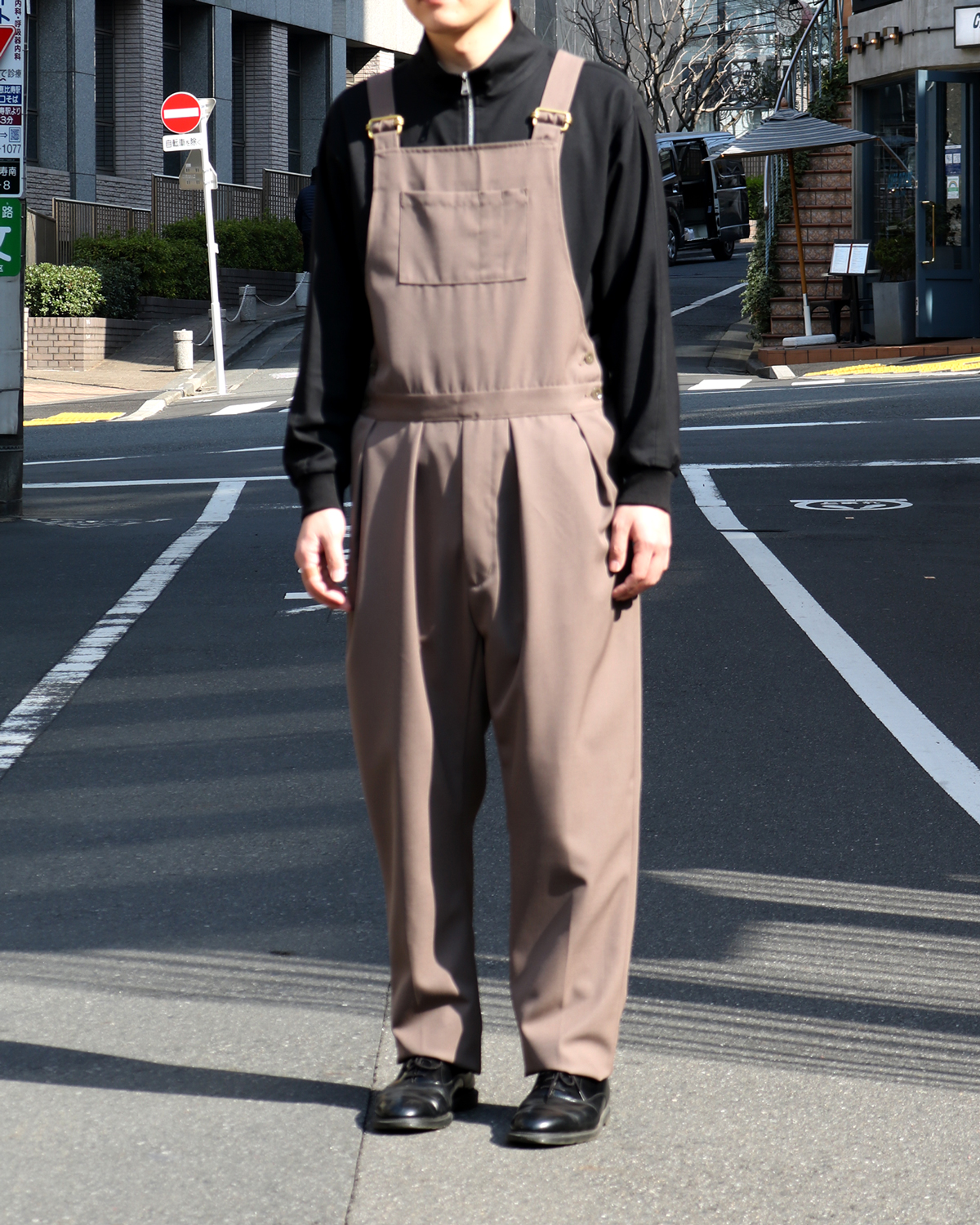 AWC SERGE|OVERALL - Lt.Brown|NEAT