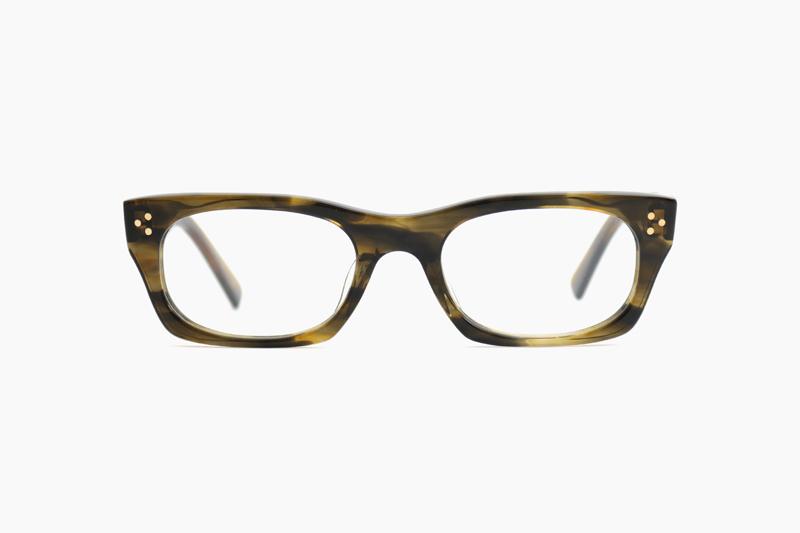 VICE CONSUL-ss – Olive Tortoiseshell|OLIVER GOLDSMITH