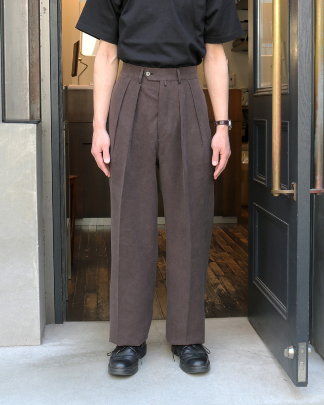 CELLULOSE NIDOM WIDE – Dark Brown <EXCLUSIVE> NEAT