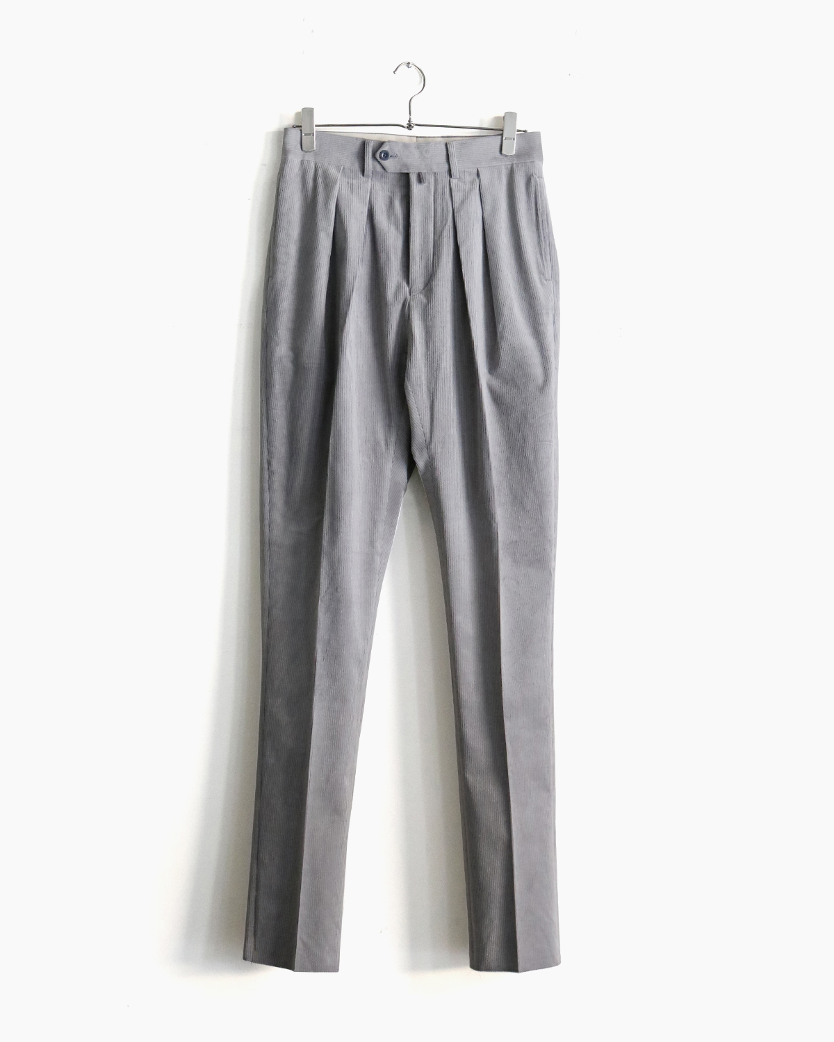 FRENCH CORDUROY|TAPERED - Gray|NEAT