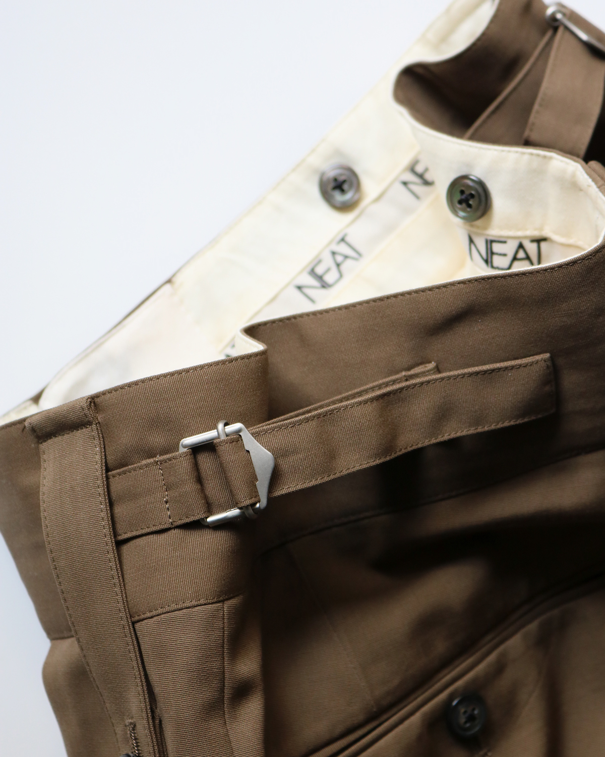 MAX CANVAS BELTLESS - Taupe NEAT