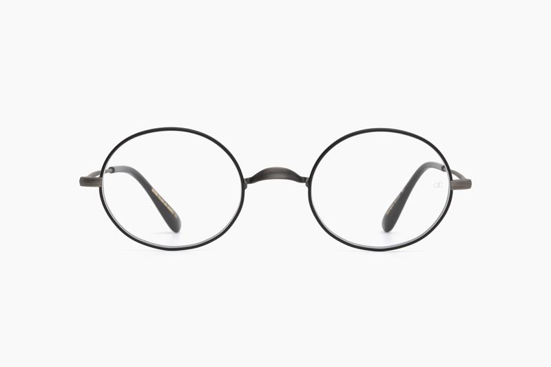 Oliver Oval/Pro Titanium – Antique Silver BK|OLIVER GOLDSMITH