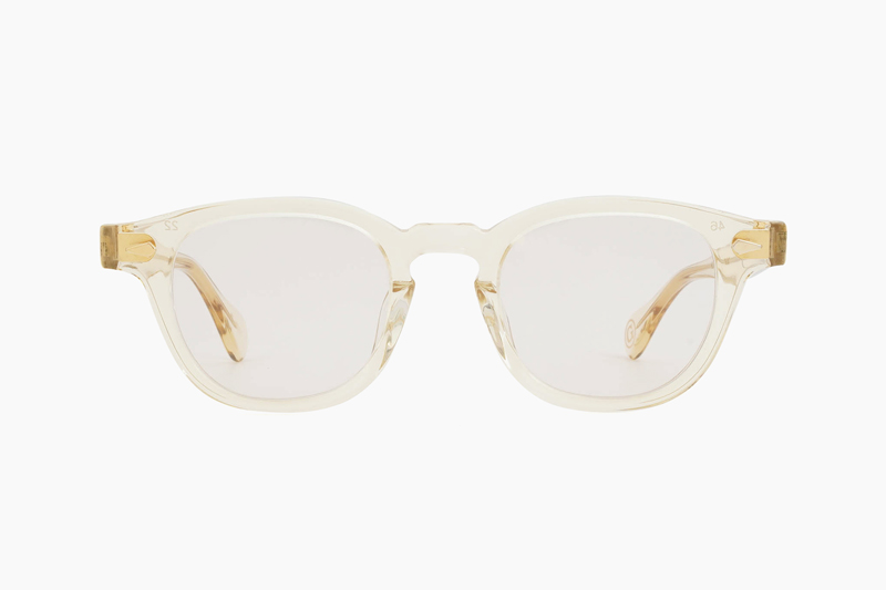 AR 46 SG – Champagne <Gold Caulking>|JULIUS TART OPTICAL