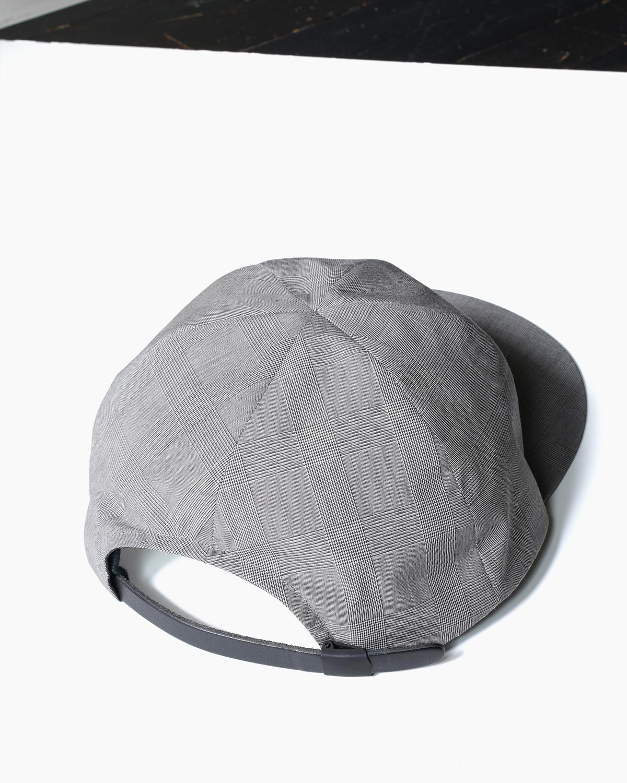 SILICON COATING CAP - Gren Check|COMESANDGOES