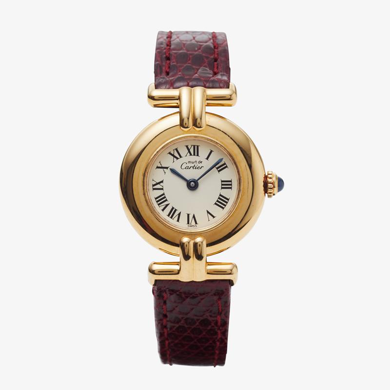SOLD OUT|Cartier|must de Cartier Colisse| Roman Dial – 90's|VINTAGE Cartier