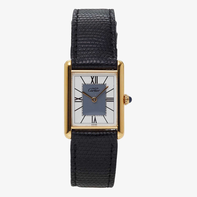 Cartier|must de Cartier TANK LM|Four Point Roman Dial <Bold>|Grey – 90's|VINTAGE Cartier