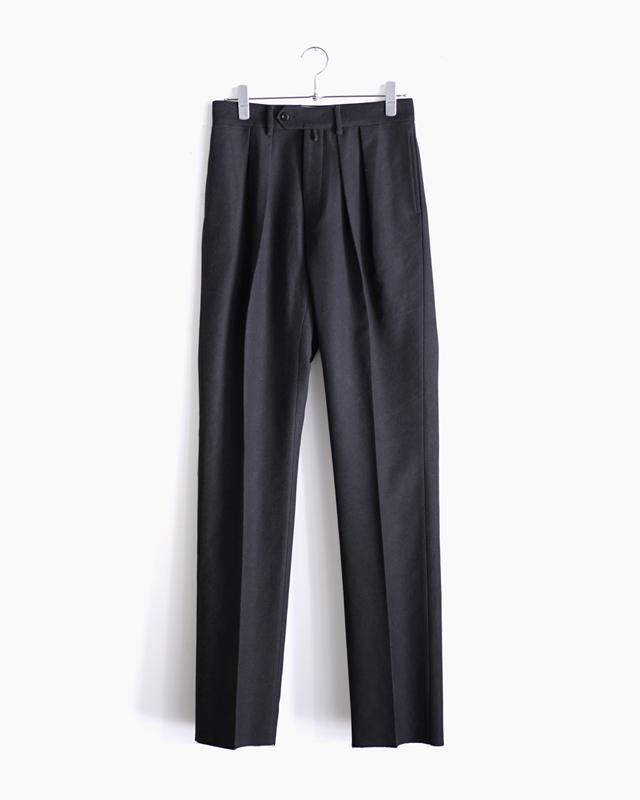 BUFFALO CLOTH PIGMENT PRINT|STANDARD – Black|NEAT