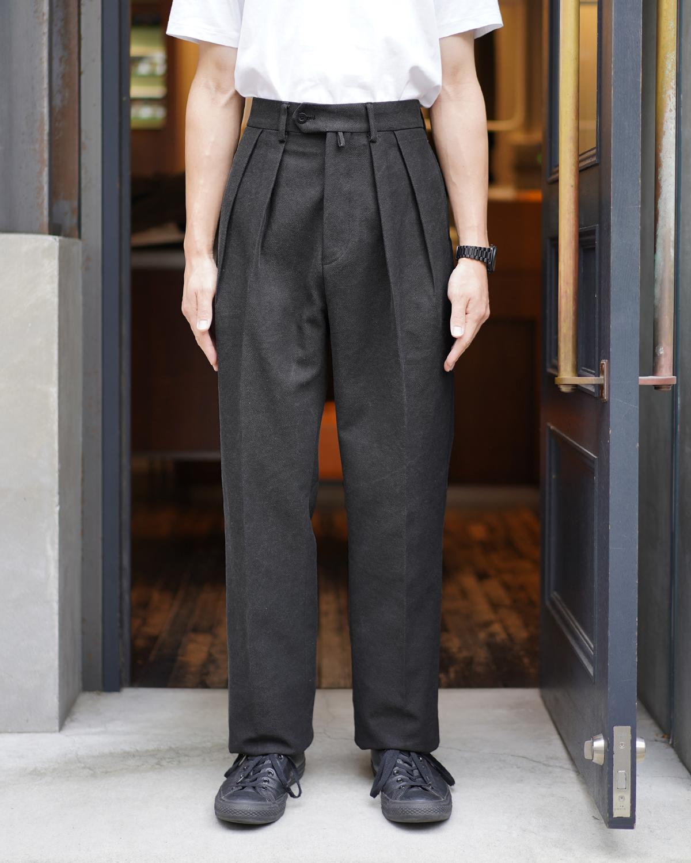 BUFFALO CLOTH PIGMENT PRINT|STANDARD - Black|NEAT