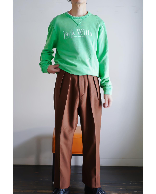 BUFFALO CLOTH PIGMENT PRINT STANDARD - Brown NEAT
