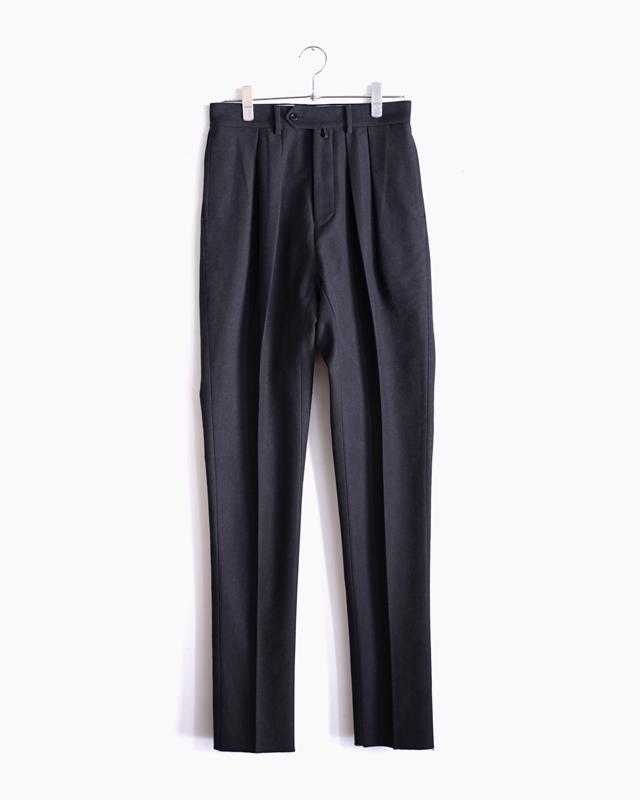 BUFFALO CLOTH PIGMENT PRINT|TAPERED – Black|NEAT